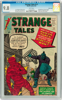 Strange Tales #111 Pacific Coast pedigree (Marvel, 1963) CGC NM/MT 9.8 White pages