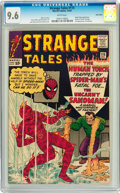 Silver Age (1956-1969):Superhero, Strange Tales #115 Twin Cities pedigree (Marvel, 1963) CGC NM+ 9.6White pages....