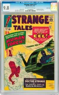 Strange Tales #117 Pacific Coast pedigree (Marvel, 1964) CGC NM/MT 9.8 Off-white to white pages