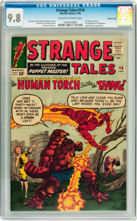 Strange Tales #116 Pacific Coast pedigree (Marvel, 1964) CGC NM/MT 9.8 Off-white to white pages