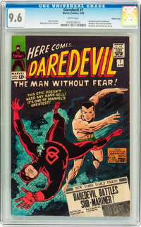 Daredevil #7 Pacific Coast pedigree (Marvel, 1965) CGC NM+ 9.6 White pages