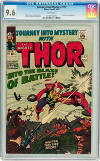 Journey Into Mystery #117 (Marvel, 1965) CGC NM+ 9.6 White pages