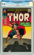 Silver Age (1956-1969):Superhero, Journey Into Mystery #125 Boston pedigree (Marvel, 1966) CGC NM/MT9.8 White pages....