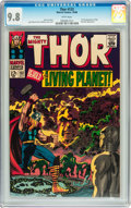 Silver Age (1956-1969):Superhero, Thor #133 (Marvel, 1966) CGC NM/MT 9.8 White pages....