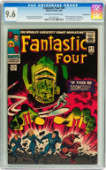Silver Age (1956-1969):Superhero, Fantastic Four #49 Pacific Coast pedigree (Marvel, 1966) CGC NM+9.6 Off-white to white pages....