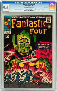 Fantastic Four #49 Pacific Coast pedigree (Marvel, 1966) CGC NM+ 9.6 Off-white to white pages