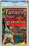 Silver Age (1956-1969):Superhero, Fantastic Four #48 Pacific Coast pedigree (Marvel, 1966) CGC NM/MT9.8 Off-white to white pages....