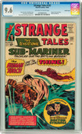 Silver Age (1956-1969):Superhero, Strange Tales #125 Pacific Coast pedigree (Marvel, 1964) CGC NM+ 9.6 Off-white to white pages....