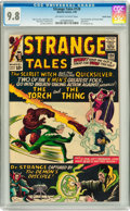 Silver Age (1956-1969):Superhero, Strange Tales #128 Pacific Coast pedigree (Marvel, 1965) CGC NM/MT9.8 Off-white to white pages....