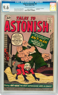 Silver Age (1956-1969):Superhero, Tales to Astonish #38 (Marvel, 1962) CGC NM+ 9.6 Off-white to whitepages....