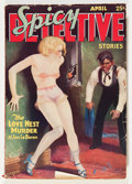 Pulps:Detective, Spicy Detective Stories V1#1 (Culture, 1934) Condition:Incomplete....