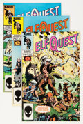 Modern Age (1980-Present):Miscellaneous, Elfquest #1-31 Group (Marvel, 1985-88) Condition: Average NM-.... (Total: 31 Comic Books)