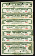 Obsoletes By State:Ohio, Cuyahoga, OH- Parma School District $1 Nov. 1, 1934 Eight Examples.... (Total: 8 notes)