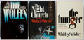 Books:Horror & Supernatural, Whitley Strieber. Group of Three Book Club Editions. 1978-1983.Near fine.... (Total: 3 Items)