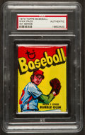 Baseball Cards:Singles (1970-Now), 1973 Topps Baseball Wax Pack PSA Authentic. ...