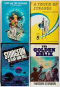 Books:Science Fiction & Fantasy, Theodore Sturgeon. Group of Four Book Club Editions. 1958-1979. Some with bio-predation. Very good.... (Total: 4 Items)