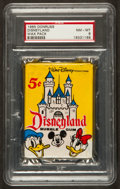 "Non-Sport Cards:Unopened Packs/Display Boxes, 1965 Donruss ""Disneyland"" Unopened Wax Pack PSA NM-MT 8...."