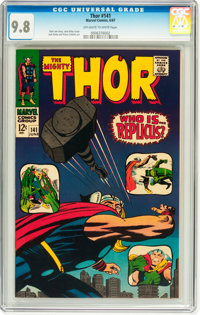 Thor #141 (Marvel, 1967) CGC NM/MT 9.8 Off-white to white pages