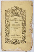 Books:Americana & American History, Sarah J. Hale, et al. [editors]. Godey's Lady's Book, andLadies' American Magazine. Post, April, 1840. Hand-col...