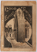 Books:Americana & American History, Bricktop. Good Templars Exposed. Tousey & Small, 1878.First edition, first printing. Wear and staining. Spine p...