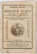 Books:Americana & American History, [Political Pamphlet]. Pictorial History of Senator Slim's Voyageto Europe. Herrick, [n. d.]. First edition, first p...