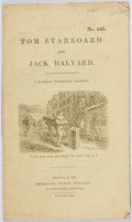 Books:Americana & American History, [Temperance Movement]. Tom Starboard and Jack Halyard.American Tract Society, ca. 1842. Presumed first edition....