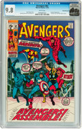 Bronze Age (1970-1979):Superhero, The Avengers #82 Rocky Mountain pedigree (Marvel, 1970) CGC NM/MT9.8 White pages....