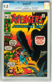 The Avengers #90 (Marvel, 1971) CGC NM/MT 9.8 White pages