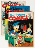 Golden Age (1938-1955):Cartoon Character, Walt Disney's Comics and Stories Group (Dell, 1943-47) Condition:Average GD-.... (Total: 13 Comic Books)