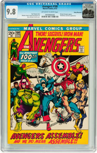The Avengers #100 Rocky Mountain pedigree (Marvel, 1972) CGC NM/MT 9.8 Off-white to white pages