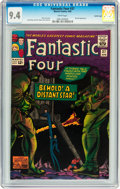 Silver Age (1956-1969):Superhero, Fantastic Four #37 Pacific Coast pedigree (Marvel, 1965) CGC NM 9.4White pages....