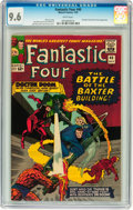 Silver Age (1956-1969):Superhero, Fantastic Four #40 (Marvel, 1965) CGC NM+ 9.6 White pages....