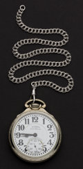 Timepieces:Pocket (post 1900), Illinois 23 Jewel Grade 163 Sixty Hour Bunn Special Pocket Watch....
