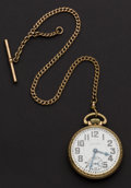 Timepieces:Pocket (post 1900), Waltham 21 Jewel Railway Special Riverside Pocket Watch. ...