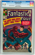 Silver Age (1956-1969):Superhero, Fantastic Four #42 Pacific Coast pedigree (Marvel, 1965) CGC NM/MT9.8 Off-white to white pages....