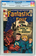 Silver Age (1956-1969):Superhero, Fantastic Four #45 Pacific Coast pedigree (Marvel, 1965) CGC NM/MT9.8 Off-white to white pages....