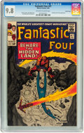 Silver Age (1956-1969):Superhero, Fantastic Four #47 Pacific Coast pedigree (Marvel, 1966) CGC NM/MT9.8 Off-white to white pages....