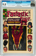 Silver Age (1956-1969):Superhero, Fantastic Four #54 Rocky Mountain pedigree (Marvel, 1966) CGC NM/MT9.8 White pages....