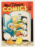 Golden Age (1938-1955):Cartoon Character, Walt Disney's Comics and Stories #35 (Dell, 1943) Condition: VG....