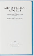 Books:Books about Books, Margaret Nancy Cutt. Ministering Angels. Five Owls, 1979. First edition, first printing. Fine....