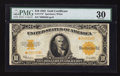 Large Size:Gold Certificates, Fr. 1173* $10 1922 Gold Certificate PMG Very Fine 30.. ...