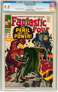 Fantastic Four #60 (Marvel, 1967) CGC NM/MT 9.8 Off-white pages