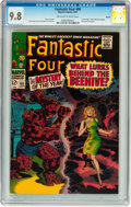Silver Age (1956-1969):Superhero, Fantastic Four #66 Boston pedigree (Marvel, 1967) CGC NM/MT 9.8Off-white to white pages....