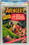 Silver Age (1956-1969):Superhero, The Avengers #3 Pacific Coast pedigree (Marvel, 1964) CGC NM+ 9.6Off-white to white pages....
