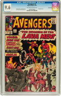 Silver Age (1956-1969):Superhero, The Avengers #5 Pacific Coast pedigree (Marvel, 1964) CGC NM+ 9.6Off-white to white pages....