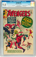 Silver Age (1956-1969):Superhero, The Avengers #6 Pacific Coast pedigree (Marvel, 1964) CGC NM/MT 9.8 Off-white to white pages....