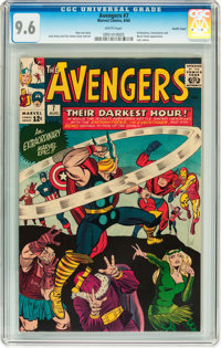 The Avengers #7 Pacific Coast pedigree (Marvel, 1964) CGC NM+ 9.6 White pages