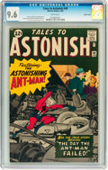 Silver Age (1956-1969):Superhero, Tales to Astonish #40 Pacific Coast pedigree (Marvel, 1963) CGC NM+9.6 White pages....