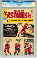 Silver Age (1956-1969):Superhero, Tales to Astonish #43 (Marvel, 1963) CGC NM/MT 9.8 Off-white to white pages....