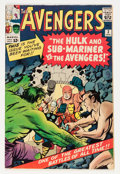 Silver Age (1956-1969):Superhero, The Avengers #3 (Marvel, 1964) Condition: FN-....